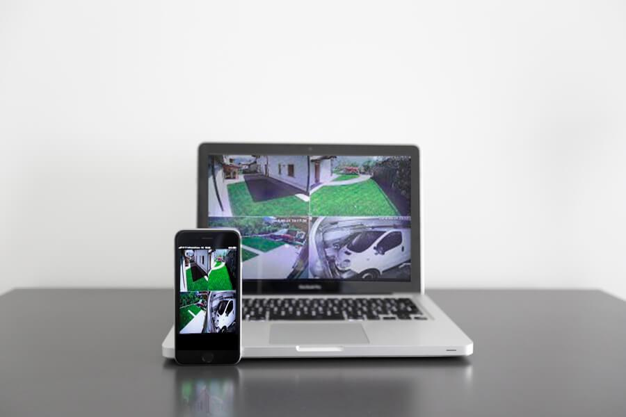 Impianti Video sorveglianza da Telefono e computer Provincia Trapani Scavone