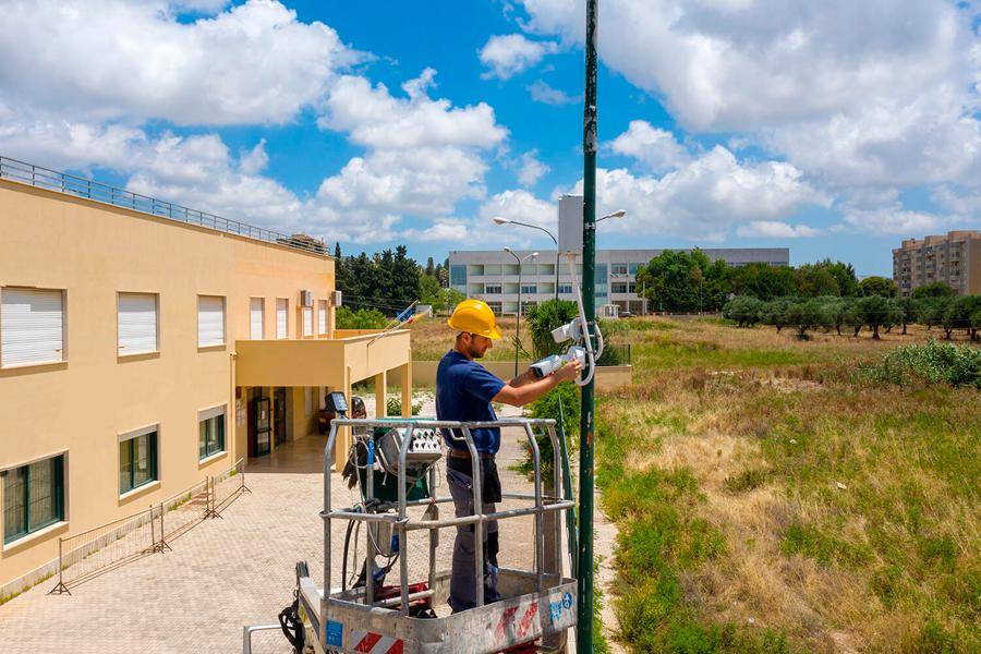 Realizzazione impianto video sorveglianza a Trapani